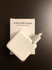 USB 4 PORT CHARGER.