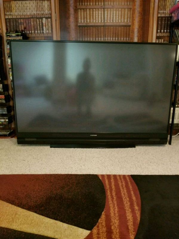 used 73 inch mitsubishi projection tv for sale in brownstown charter