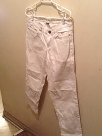 Eddie Bauer white ladies jean size 4 New York, 10019