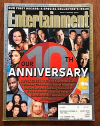 Entertainment Weekly 10th Anniversary Special Collector's Issue Toronto, M4P 1T7