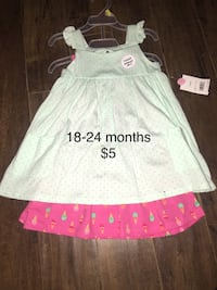 Brand new with tags baby girl clothes 18-24 months