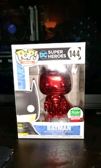 Chrome red batman funko pop Dumfries, 22026