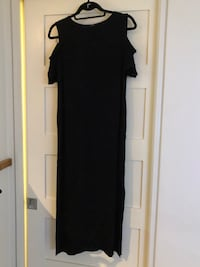 black cold-shoulder maxi dress Toronto, M6J 3C3