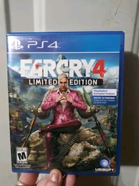 Far cry 4 limited edition PS4 Knoxville, 37919