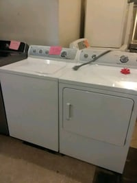 Ge washer and dryer set excellent condition 4months warranty