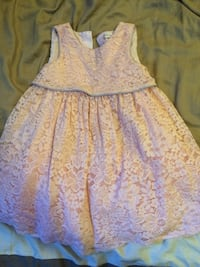 Girls 3T pink lace dress Sterling Heights, 48313