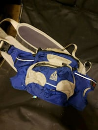 blue and white duffel bag Niles, 49120