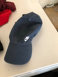 black and white Nike cap Stockton, 95209