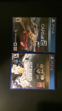 three assorted PS4 game cases Vancouver, 98664