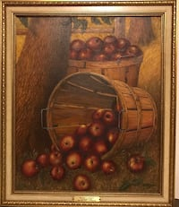 Oil Painting - Nature's Bounty. Adapted From Levi Wells Prentice McLean, 22101