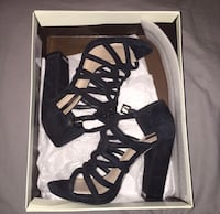 BCBGMaxAzria Suede Caged Heels  North Bellmore, 11710
