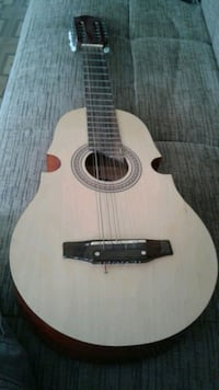 white and black acoustic cuatro for sale Bayonne