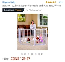 Baby gate / play yard