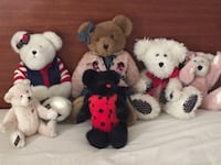 assorted-color bear plush toy lot Louisville, 40220