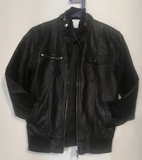 Brand  New with tags- Youth leather Jacket size 10/12 - never worn Edmonton, T5A