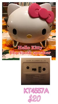white Hello Kitty Bluetooth speaker collage Bowling Green, 42104