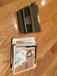 black and gray Nintendo 3DS with box