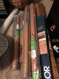 """Roll up Shades BRAND NEW 36"""", 48"""", 84"""" & 96"""".  $5:00 to $15.00 each.  Wolfforth, 79382"""