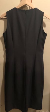 Calvin Klein mid length heather grey dress