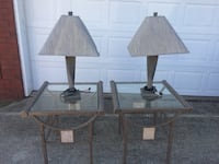 End tables with lamp Semmes, 36575