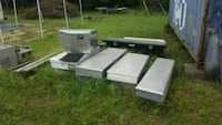 Full size, Pick up bed, Aluminum tool boxes Alma, 72921