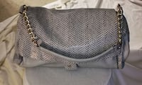 Sergio Ferretti grey and reptile print purse. Vaughan, L4J 6K8