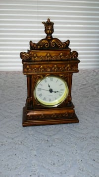 vintage copper clock, clock works Knoxville, 37917