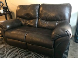 Love seat recliner - Asap Must have moving truck