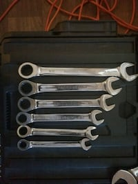 6 piece ratcheting wrench set SAE