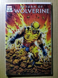 Return of Wolverine 1 (9.4) NM Steve McNiven  Lanham, 20706