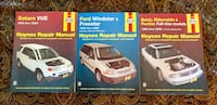 3 NEW Haynes Repair Manuals, Ford windstar/freestar, Saturn vue, and full size olds, Pontiac and Buick's. Port Orange, 32128