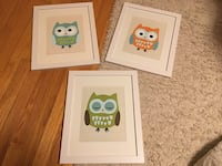 3 owl pictures  Street