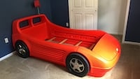 red and yellow plastic car bed frame Jackson, 08527
