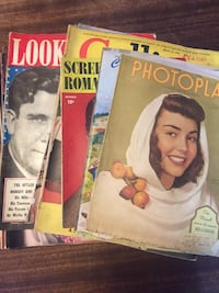 11 Vintage 1940's Magazines Seattle, 98168