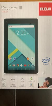 Voyager III tablet brand new in box, never used Toronto, M9W 2J7