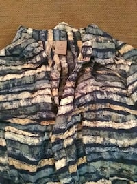 gray and blue striped button-up ladies Knoxville, 37931