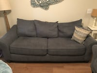Gray fabric 2-seat sofa Tampa, 33624