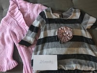 Little girls pink sweater and dress - 2T Columbia, 21044
