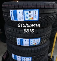215/55/16 brand new winter tires  Richmond Hill, L4B
