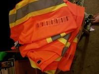 Construction safety shirts  Barrie, L4N 8V4