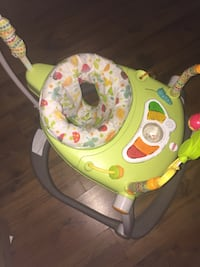 green and white Fisher-Price jumperoo Halifax, B2Z 1A1