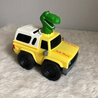 Toy Story Pizza Planet Delivery Truck Rex Dino Aliens Vehicle Sounds