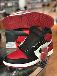 Brand new Bred toe 1s size 13 Silver Spring, 20902