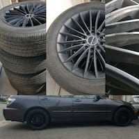 "RTX alloy rims 16"" 5x114.3/5×100 and summers Toronto, M1L 0B2"