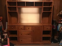 Brown wooden desk with hutch Hopkinsville, 42240