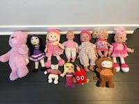 Lot of dolls like new or 5$ each Mississauga, L5B