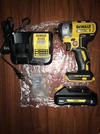 Dewalt Brushless impact Driver Kit 3.0 Battery and Charger Included  New York, 10453