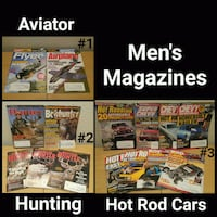 ASSORTED LOTS OF OLDER MENS MAGAZINES Ontario, 91762