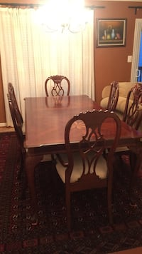 Dining Table with 6 chairs Centreville, 20120