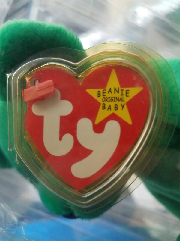 b86e972d643 Used very rare Ty Erin Beanie baby tag error for sale in Tampa - letgo